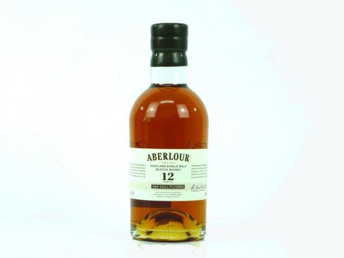 Aberlour 12 Years Non-chill-filtered Single Malt 48% 0,7L