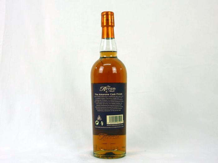 The Arran Amarone Cask Finish 50% 0,7L