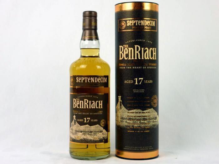 BenRiach 17 YO Septendecim Speyside Single Malt 46% 0,7L