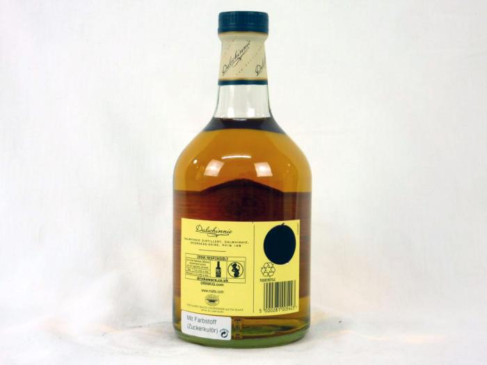 Dalwhinnie 15 Years 43% 0,7L