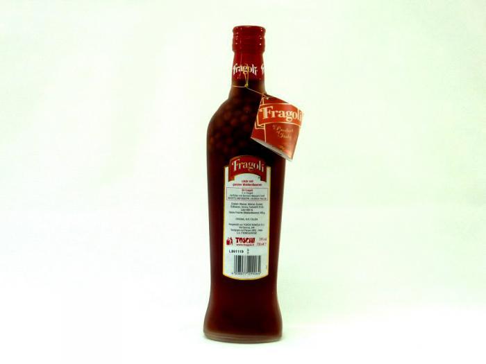 Toschi Fragoli Walderdbeerlikör 24% 0,7L