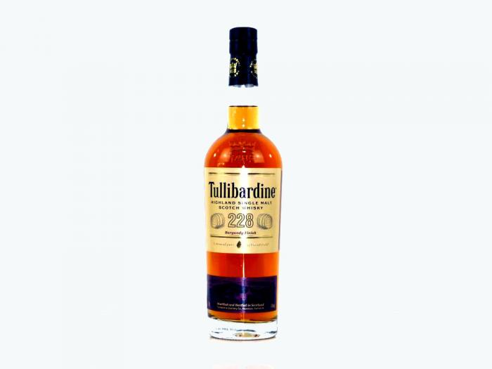 Tullibardine Burgundy Finish Highland Single Malt 43% 0,7L