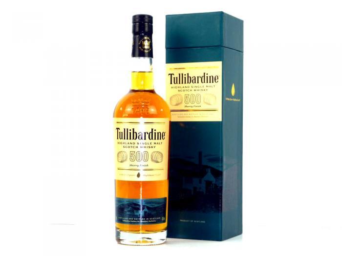 Tullibardine Sherry Finish Highland Single  Malt 43% 0,7L
