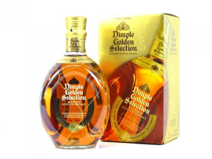 Dimple Golden Selection Blended Scotch Whisky 40% 0,7L