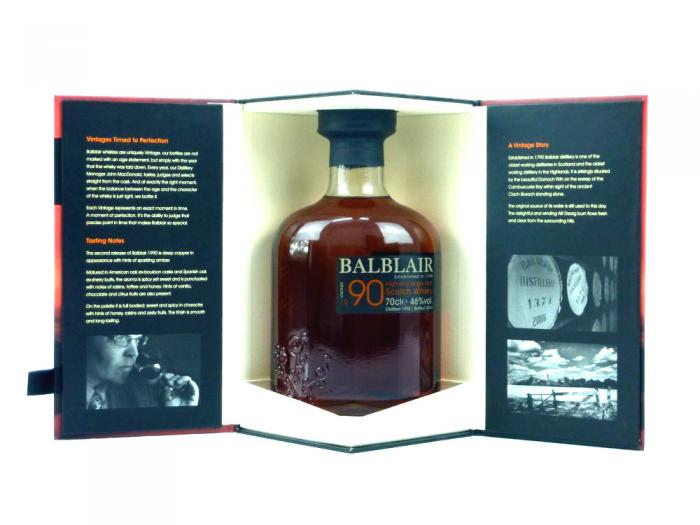 Balblair Vintage 1990 Highland Single Malt 46% 0,7L