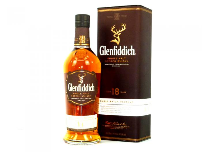 Glenfiddich 18 Years Old Small Batch Reserve 40% 0,7L
