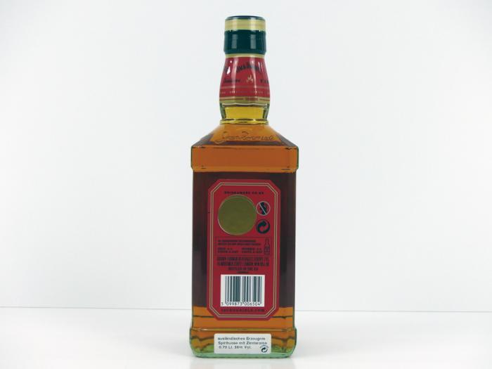 Jack Daniels Fire Whisky-Zimt-Likör 35% 0,7L