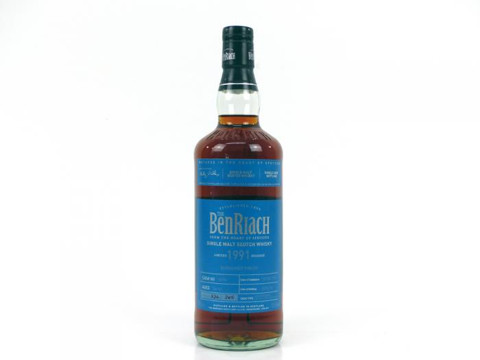 BenRiach 1991 Cask #6896 Batch 13 !Limitiert! 50,6% 0,7L