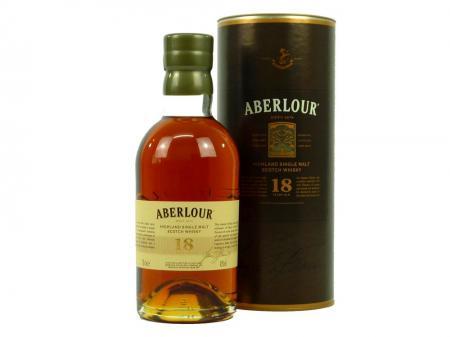 Aberlour 18 Years Old Highland Malt Whisky 43% 0,7L