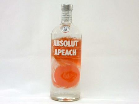 Absolut Vodka Apeach 40% 1,0L