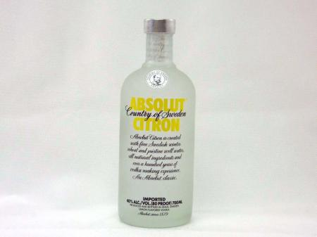 Absolut Vodka Citron 40% 0,7L
