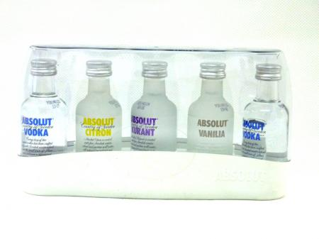 Absolut Vodka Five Miniaturen 40% 5 x 0,05L