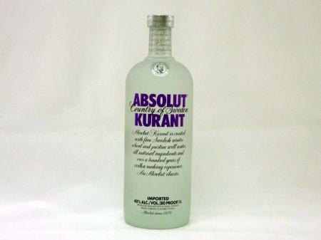Absolut Vodka Kurant 40% 1,0L