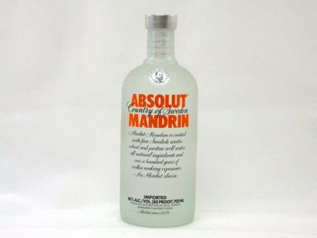 Absolut Vodka Mandrin 40% 0,7L