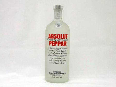 Absolut Vodka Peppar 40% 1,0L