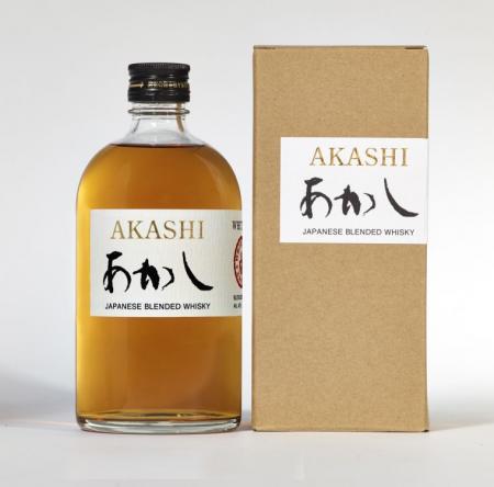 Akashi Blended Japanese Blended Whiskey 40% 0,5L