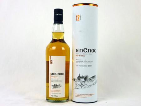 An Cnoc 12 Years Old Highland Single Malt 40% 0,7L