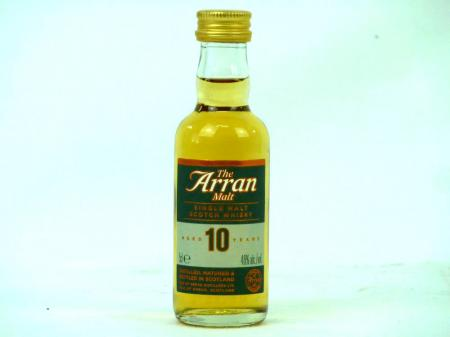 The Arran 10 Years Island Single Malt 46% 0,05L