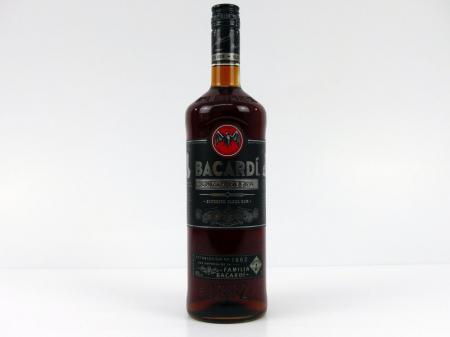 Bacardi Carta Negra Black brauner Rum 40,0% 1,0L