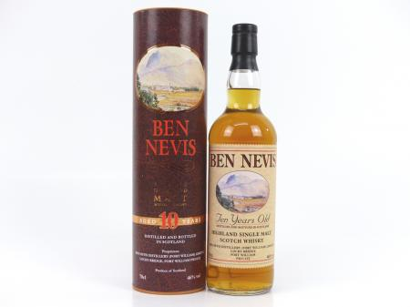 Ben Nevis 10 Years Old Scotch Whisky 46% 0,7L