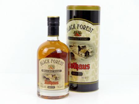 Rothaus Black Forest Single Malt Whisky 2011 2015 43% 0,7L