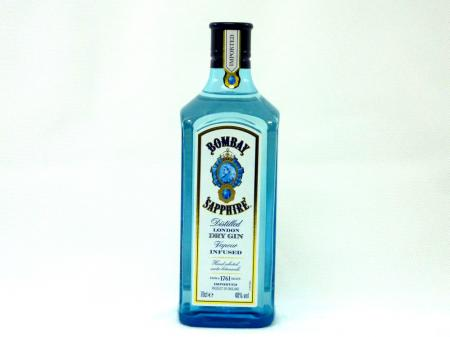 Bombay Sapphire London Dry Gin 40% 0,7L