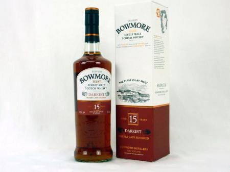 Bowmore 15 Years Darkest 43% 0,7L