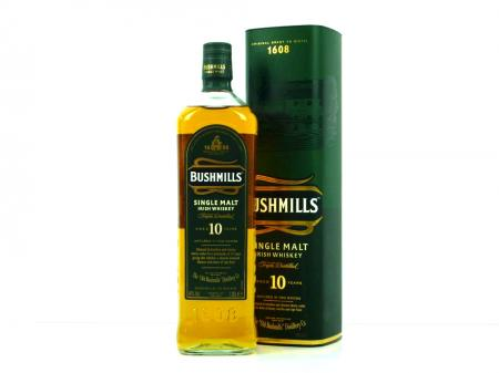 Bushmills 10 Years Old Single Malt 40% 1,0L