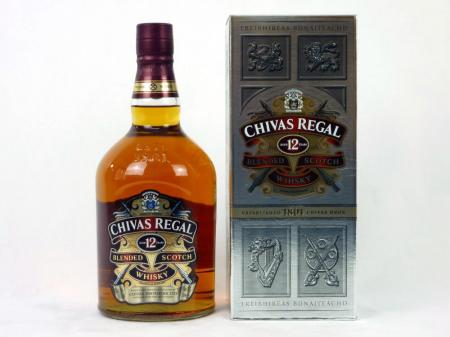 Chivas Regal 12 Years Old Scotch Whisky 40% 1,0L