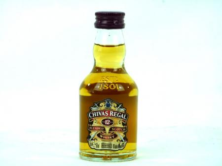 Chivas Regal 12 Years Old Scotch Whisky 40% 0,05L