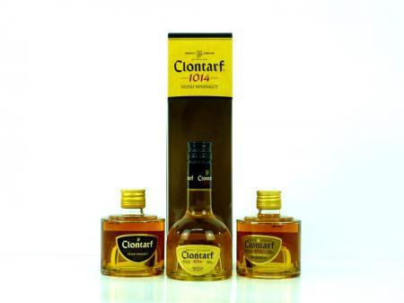 Clontarf Whiskey Trinity 40% 3 x 0,2L