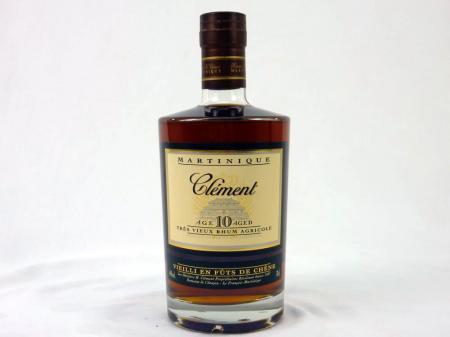Clement Rum 10 Ans 44% 0,7L