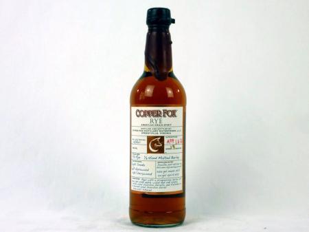 Copper Fox Rye Whiskey 45% 0,7L