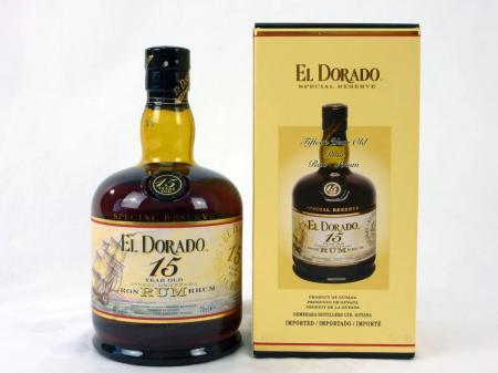 El Dorado 15 Years 43% 0,7L