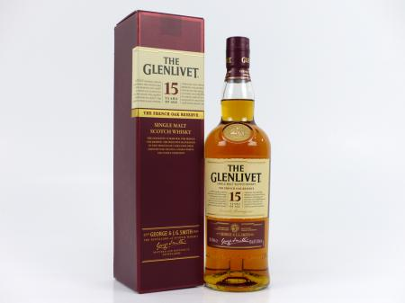 The Glenlivet 15 Years 40% 0,7L