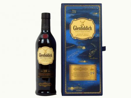 Glenfiddich 19 Years Age of Discovery - Bourbon Cask 40% 0,7L