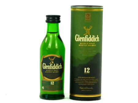 Glenfiddich 12 Years 40% 0,05L