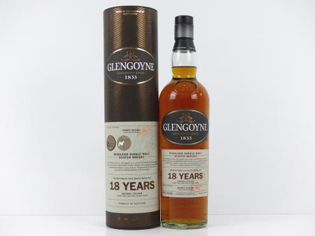 Glengoyne 18 Jahre Highland Single Malt 43% 0,7L