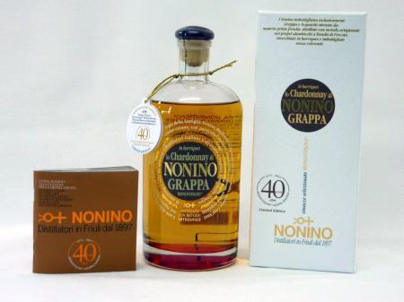 Grappa Nonino Chardonnay 41% 0,7L