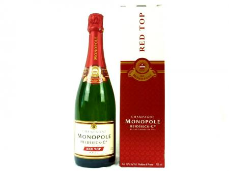 Heidsieck Red Top Champagner - Monopole 12% 0,75L