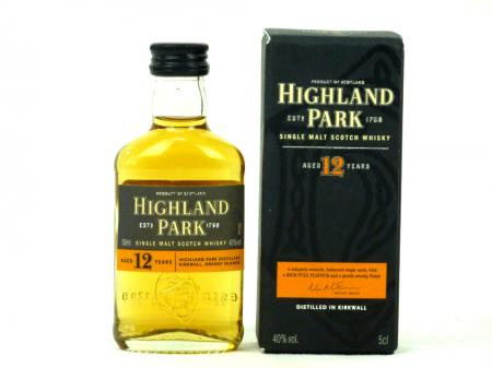 Highland Park 12 Years 40% 0,05L