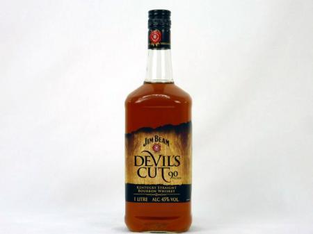 Jim Beam Devils Cut Kentucky Straight Bourbon 45% 1,0L