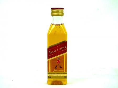 Johnnie Walker Red Label Old Scotch Whisky 40% 0,05L