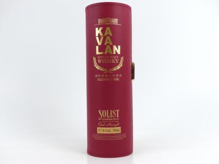 Kavalan Solist Sherry Taiwanesischer Single Malt 57,8% 0,7L
