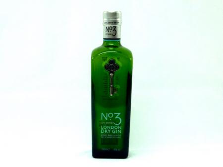 No.3 London Dry Gin 46% 0,7L