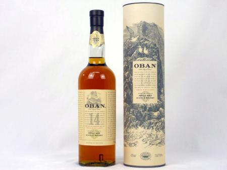 Oban 14 Years Old Single Malt 43% 0,7L