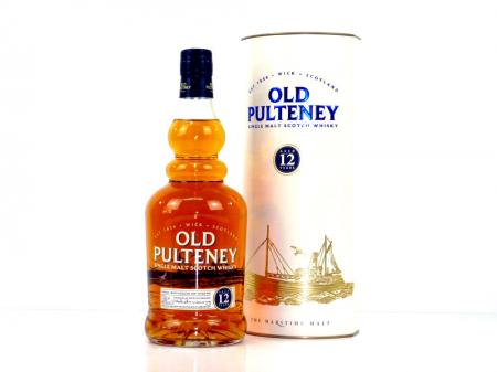 Old Pulteney 12 Years Old Highland Single Malt 40% 0,7L