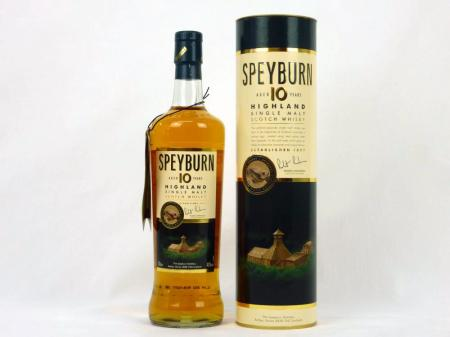 Speyburn 10 Years Old Single Malt 40% 0,7L