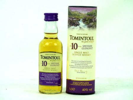 Tomintoul 10 Years 40% 0,05L