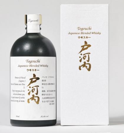 Togouchi Premium Blended Whisky in Geschenkpackung 40% 0,7L